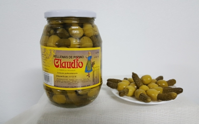 Manzanilla Rellena de Pepino - 8425900011383