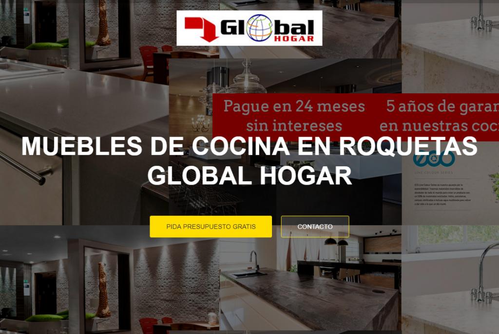 Muebles de cocina en almeria en global hogar tienda recomendada roquetas de mar realizamos su - Muebles la union almeria ...