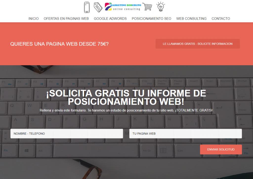 POSICIONAMIENTO WEB EN ALMERIA