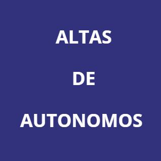 Darse de alta como autónomo en Almería